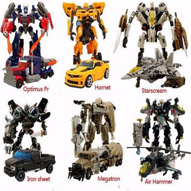 Original Box Transformation 4 Bumblebee Brinquedos Megatron Galvatron Robots Action Figures Juguetes Classic Toys for gifts