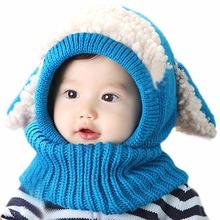 Best selling Toddler font b Kids b font Beanies Hats Coif Hood Kintted Woolen font b