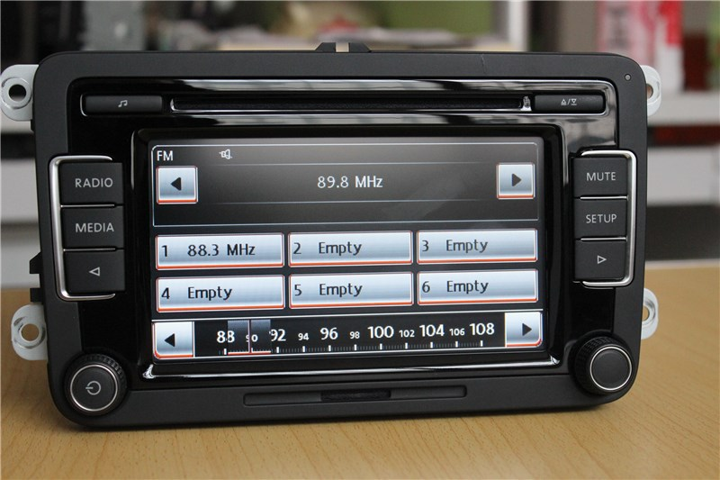 vw car radio stereo rcd510 usb reverse original radio with. Black Bedroom Furniture Sets. Home Design Ideas