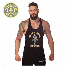 Fitness!New 2014 fashion cotton sleeveless shirts tank top Fitness men shirt mens singlet sport Bodybuilding Plus size gym vest