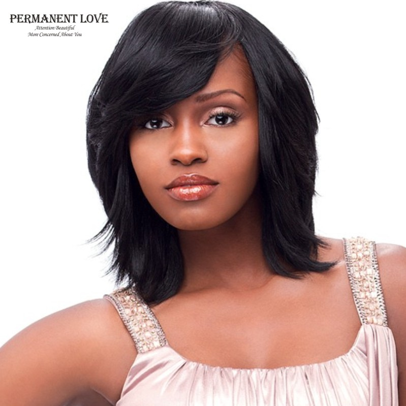 synthetic wigs for black women fashion style long bob wigs