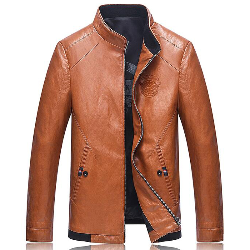 Mens Leather Jackets The leather jacket is a men's wardrobe must-have! We've got all the latest styles, from rebel-cool in timeless black, or sleek and contemporary.