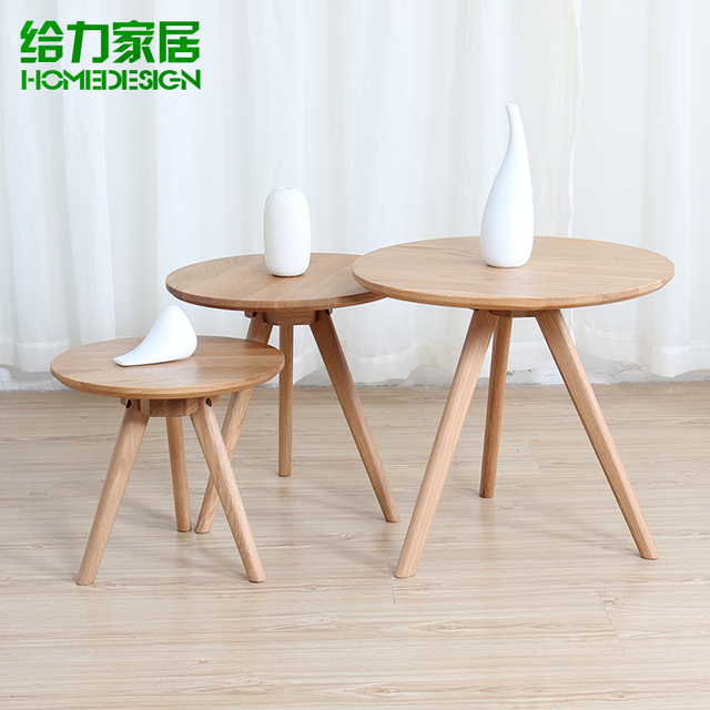 petite table ronde bois massif table basse ikea. Black Bedroom Furniture Sets. Home Design Ideas