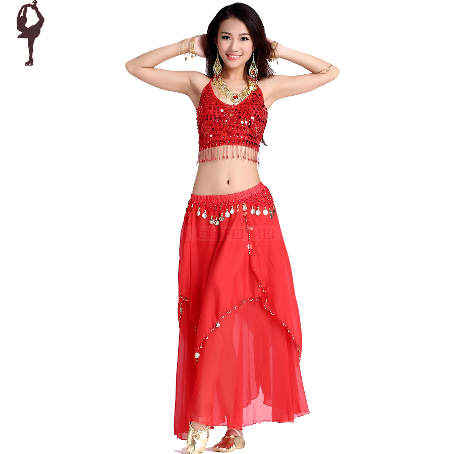 Belly-Dancing-8-Colors-Bollywood-Dance-Costumes-Female ...