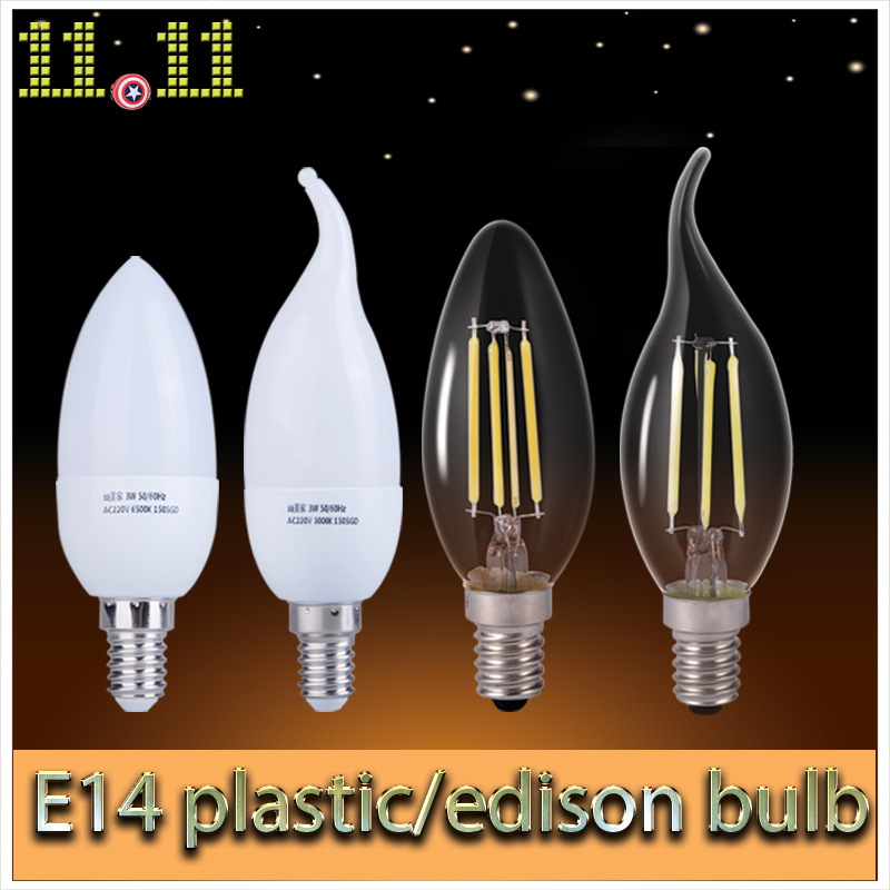 edison glass lamps led e14 filament lamp ampoule led lights energy saving lamp bulb home. Black Bedroom Furniture Sets. Home Design Ideas