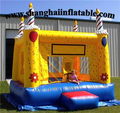 Customized Kids Playground Princess Castles Indoor Kids Jumping Castle yellow cake bounce birthday gift