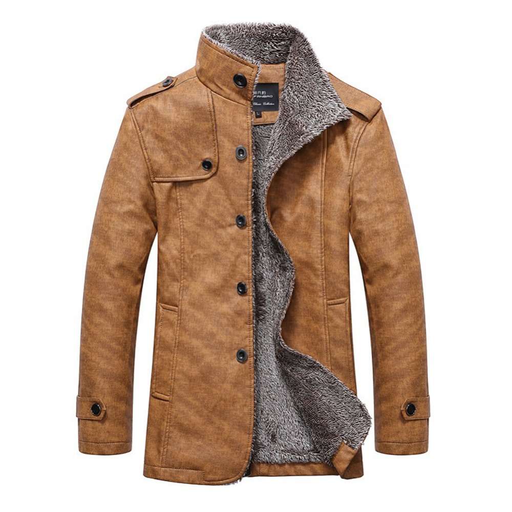 Fashionable leather jackets for men