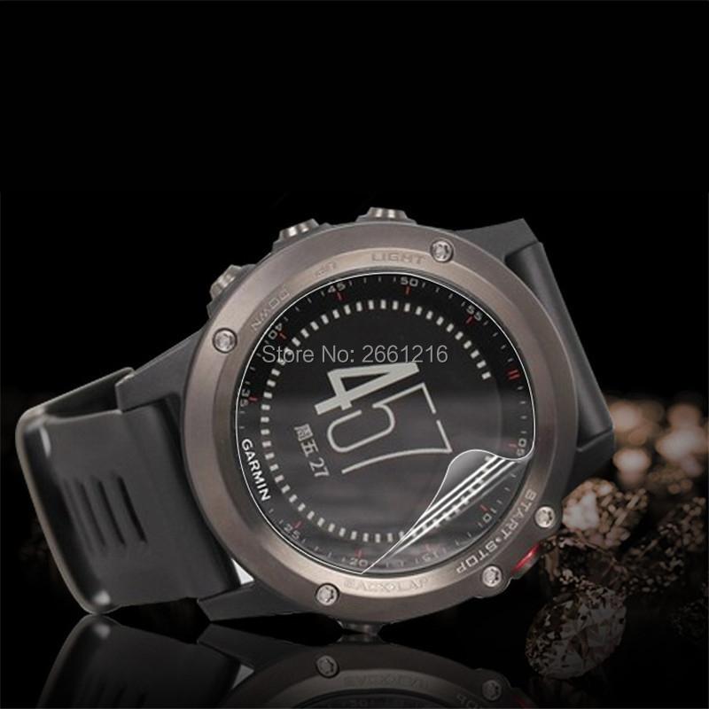 dfdd273f15f0 3 unids/lote HD claro/antideslumbrante mate anti-Scratch protector de  pantalla de protección Películas para Garmin Fenix 3 /fenix3 HR smartwatch