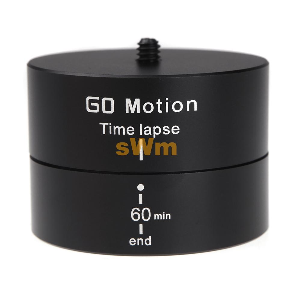 Go Pro Mount 360 Degree Panning Rotating Panorama Delay Time Lapse Stabilizer