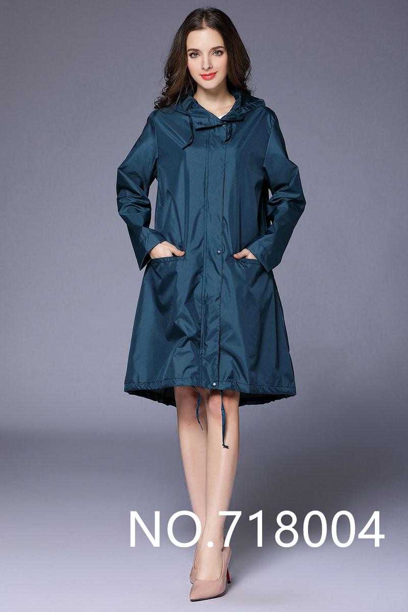 8f9268ff5 2019 Long Thin Raincoat Women Waterproof Light Rain Coat Ponchos ...