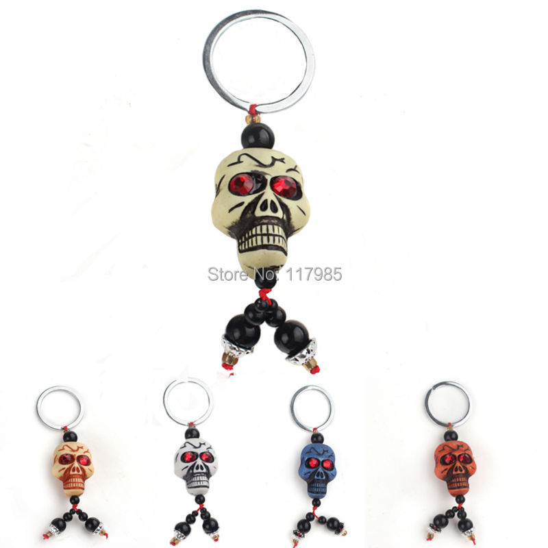 Clearance Sale Creative Keychain Skeleton Charms Key Ring Skull Key Chain Halloween Best GIFT