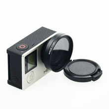 Professional High Transmittance 37MM UV Filter Lens Protector for GoPro HD Hero 4 /3 plus/3