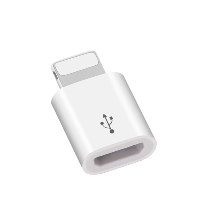 8 Pin Converter To Micro Usb 2 0 Adapter For Iphone 55s 66s Plus
