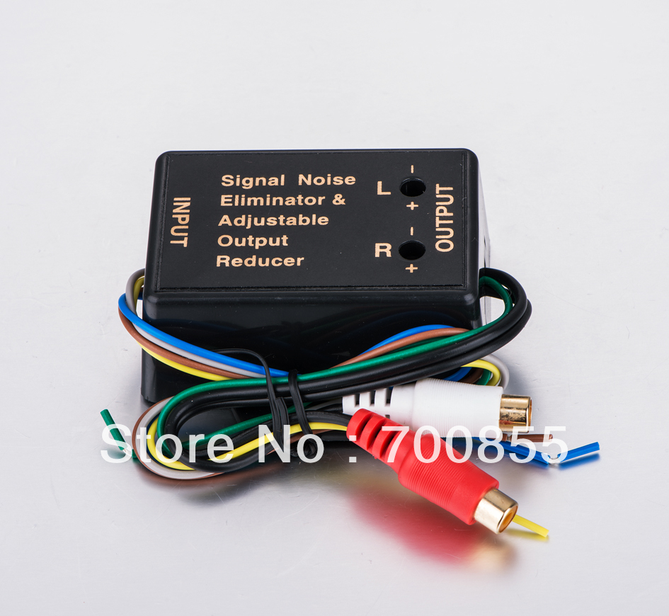 buy 2car high low impedance converter adapter adjustable. Black Bedroom Furniture Sets. Home Design Ideas