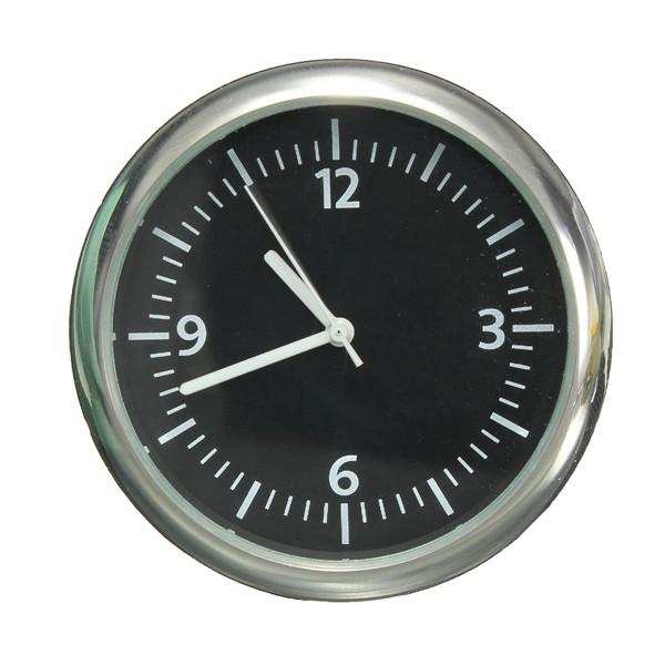 Audew механика автомобиль часы цифровой указатель для 12 v автоматический время белый