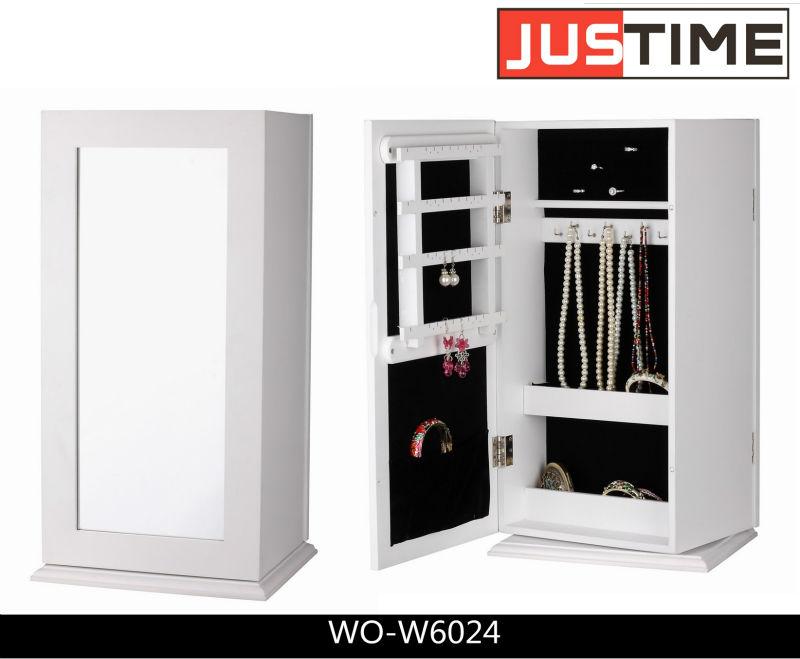 meubles miroir coffret bijoux rotation armoire bijoux vitrine meubles en bois id du produit. Black Bedroom Furniture Sets. Home Design Ideas
