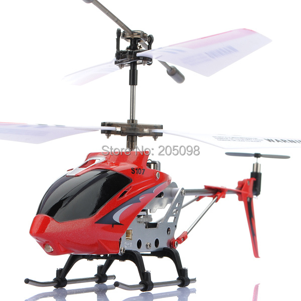 SYMA S107G Mini Metal 3.5CH RC Helicopter Model Toys With Gyro Remote Control