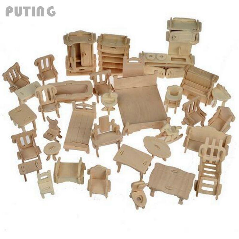 House Furniture Sets: Popular Modern Dollhouse Furniture Sets-Buy Cheap Modern