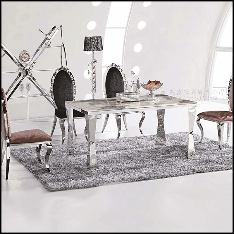 Cheap Dining Table With Chairs: Dining Table Sets Marble Dining Table 4 Chairs Modern