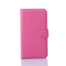 Lychee Grain Leather Phone Case for Lenovo A859