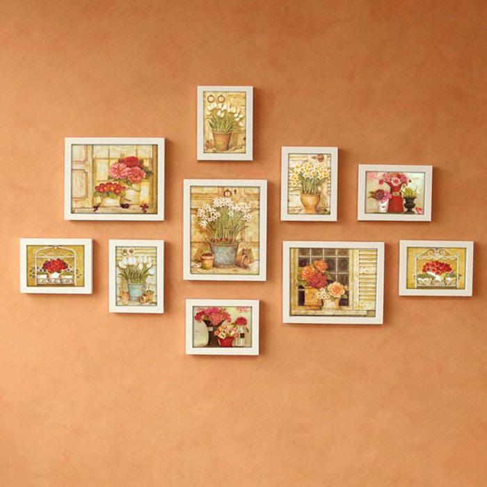 5.8 раза шипы европейский дерево фоторамка стена 11 creative фото стена комбинация фоторамка стена A sectio