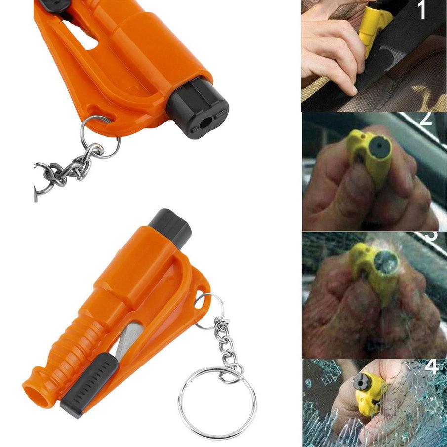 Новое поступление авто безопасность аварийный молоток ремень стеклобой резак побег инструмент