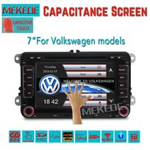 7inch Car Multimedia player for VW golf 4 golf 5 6 touran passat B6 sharan jetta caddy transporter t5 polo Cheapest promotion