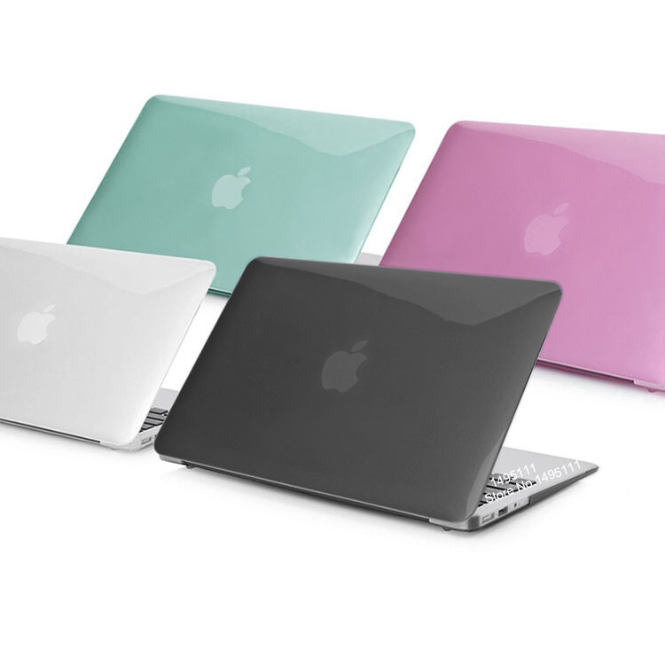 Popular Transparent crystal Case For Apple macbook Air Pro ...