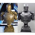 The Avengers Iron Man Alltronic Era Resin 1 4 Bust Model MK43 Statue Half Length Photo
