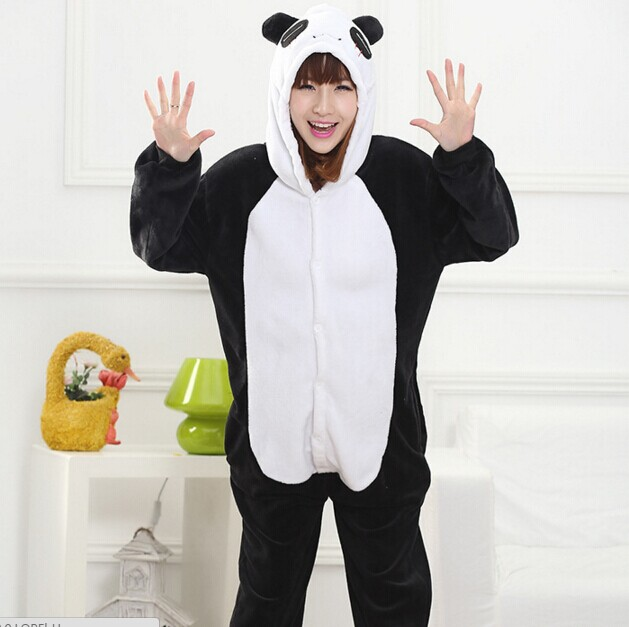 cb7a4cabe4f7 New Panda Cartoon Animal Onesies Onesie Adult Unisex Cosplay ...