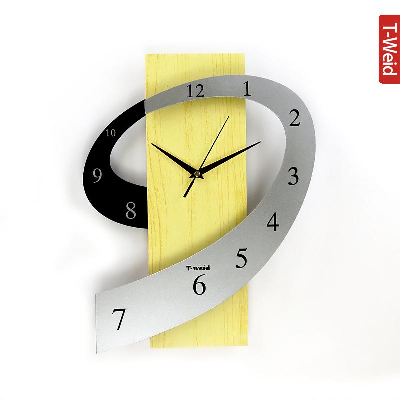 Wooden Arch Hammock Wall Clock Fashion Clock Rustic Pocket