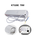Original Dooya Electric Curtain Motor KT320E 75W DC1600 with remote controller WIFI Control 220V 50Hz IOS