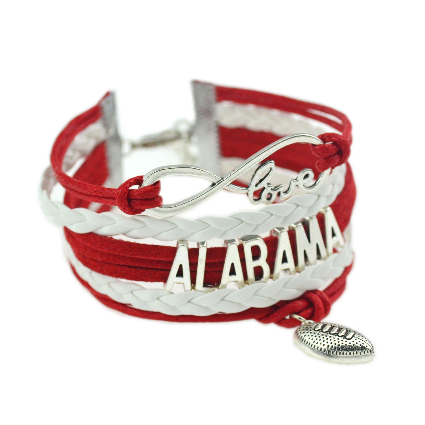 Alabama Charm Bracelet: Popular Alabama Football Jewelry-Buy Cheap Alabama