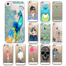 Hot Ultra Thin Soft TPU Gel Original Transparent Case For iPhone 5 5S 5G Clear Silicon Back Cover Phone Bags For IPhone5 I5
