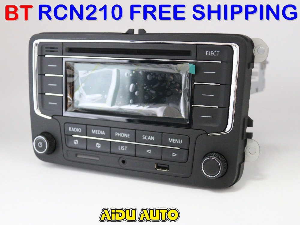 russian free shipping rcn210 bluetooth mp3 usb player cd. Black Bedroom Furniture Sets. Home Design Ideas