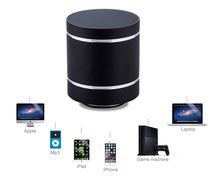 Rechargeable computer subwoofer 360 degree omni-directional mini super bass wireless 10W Bluetooth Vibration Speaker Free Ship