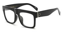 Peekaboo, черная оправа для очков для мужчин, квадратная прозрачная оправа, очки для женщин, фирменный дизайн, высокое качество(Китай)