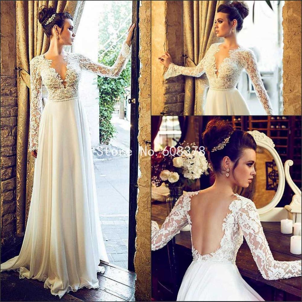 Short Sleeve Lace Wedding Dresses 2016 Chiffon Simple: Custom Made Simple 2016 Free Shipping Cheap White Chiffon