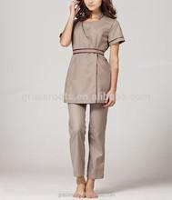 Promotional spa uniform dresses buy spa uniform dresses for Spa uniform price