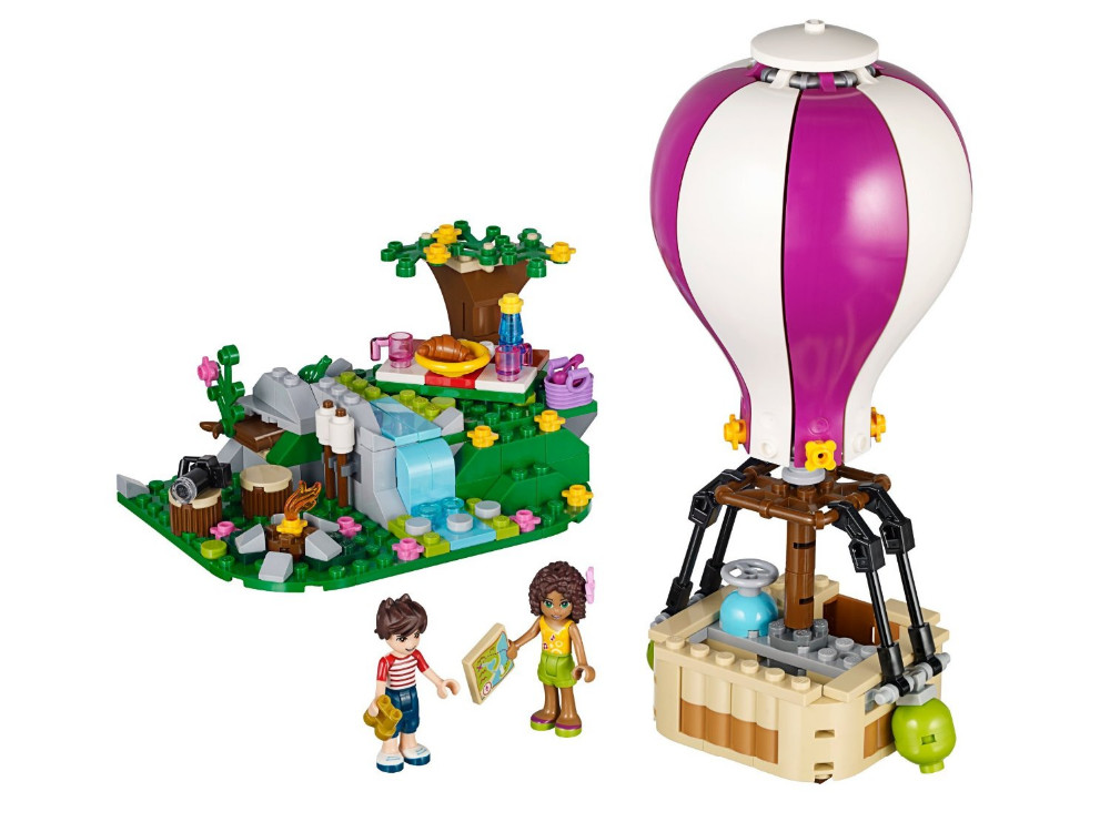 UKLego Friends Heartlake Hot Air Balloon Kids Model Toy.