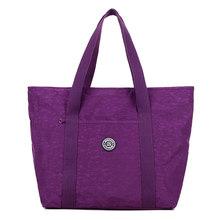 2019 модные сумки женские сумки на плечо известный бренд женские сумки дизайнерский нейлоновый чемодан для путешествий Сумки-шопперы Mujer XA678WB(Китай)