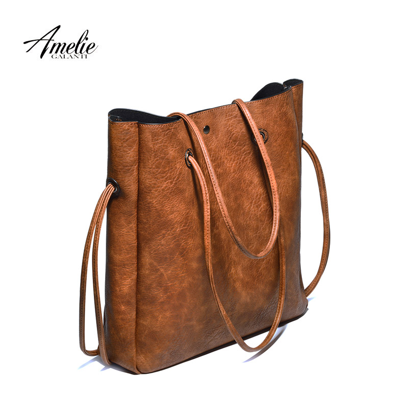 bfcffe9aefc9 Ameliegalanti 2018 New Casual Women Shoulder Bags Famous Brand Fashion  Designer