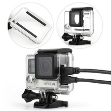 GoPro Accessories Replacement Skeleton Protective Housing Case / Cover with Lens for Gopro Hero 3+/4