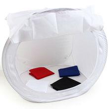 High quality 60x60cm Light Tent  Photo Studio Shooting SoftBox Soft Box with 4 Backdrops