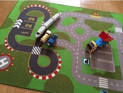 Car Track Rugs Area Ideas