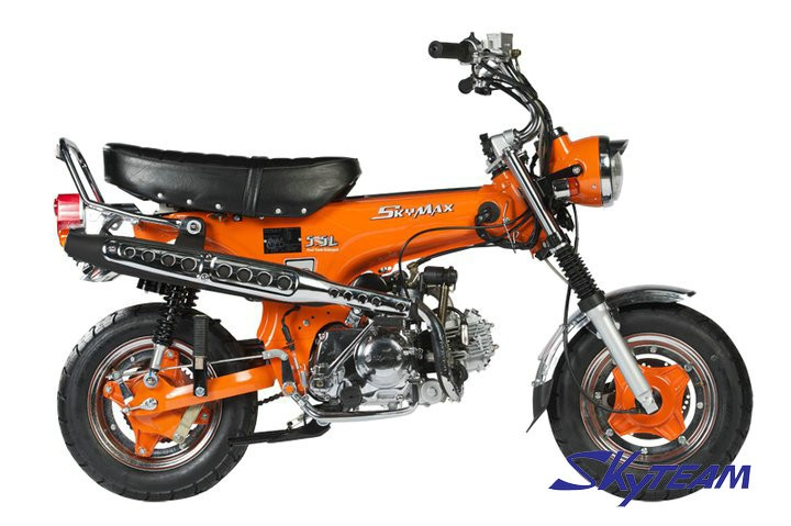 skyteam 125cc 4 tempos motor da bicicleta dax skymax aprova o cee euroii euro3 novo 5 5l. Black Bedroom Furniture Sets. Home Design Ideas