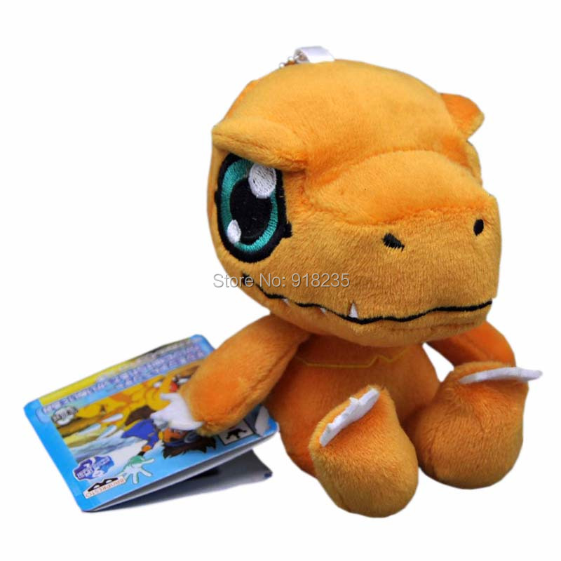 2019 Wholesale Agumon Gomamon Gabumon 35 Digimon Plush Doll Figure