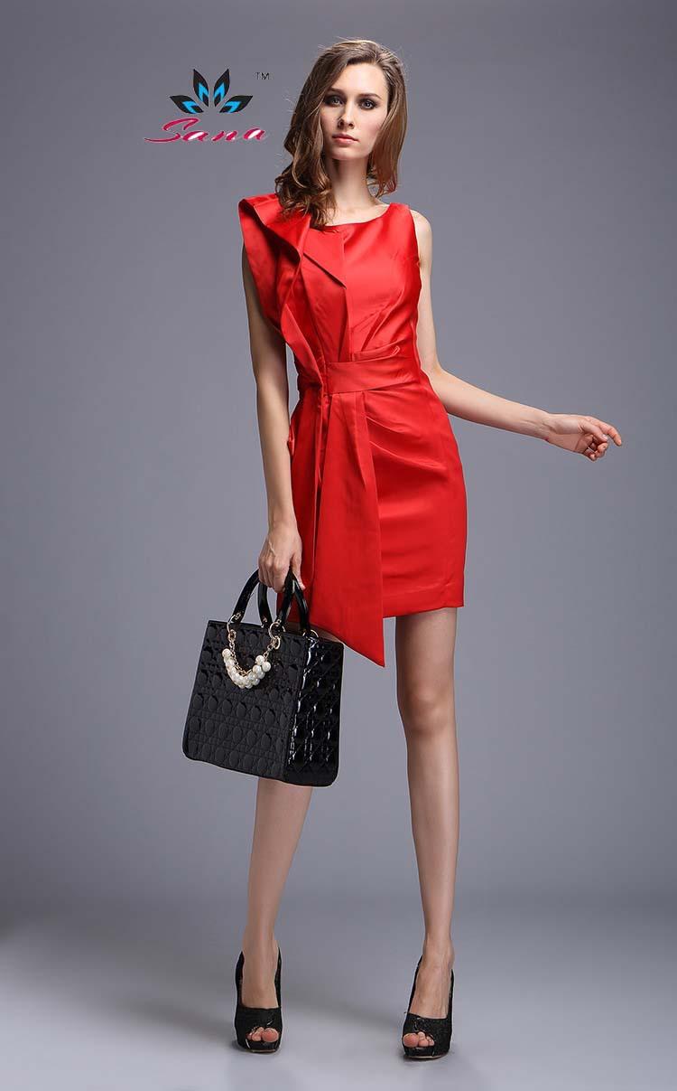 Fashion Dresses Accessories: SANA International Brand French Fabric New 2015 Women