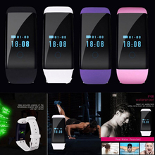 IP68 Sports Dfit Smart Wristband Fitness Bracelet for IOS &Android Heart Rate Monitor/Pulsometer Activity Wrist Watch for women
