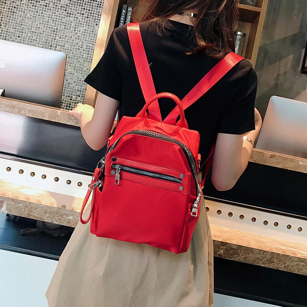 011982e55365 Mini Women S Solid Color College Style Fashion Girls Small Bags ...